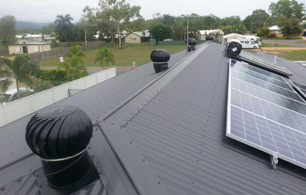 ventilatie acoperis industrial