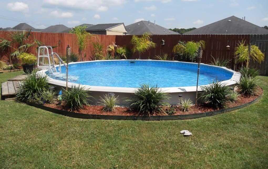 amenajare piscina supraterana