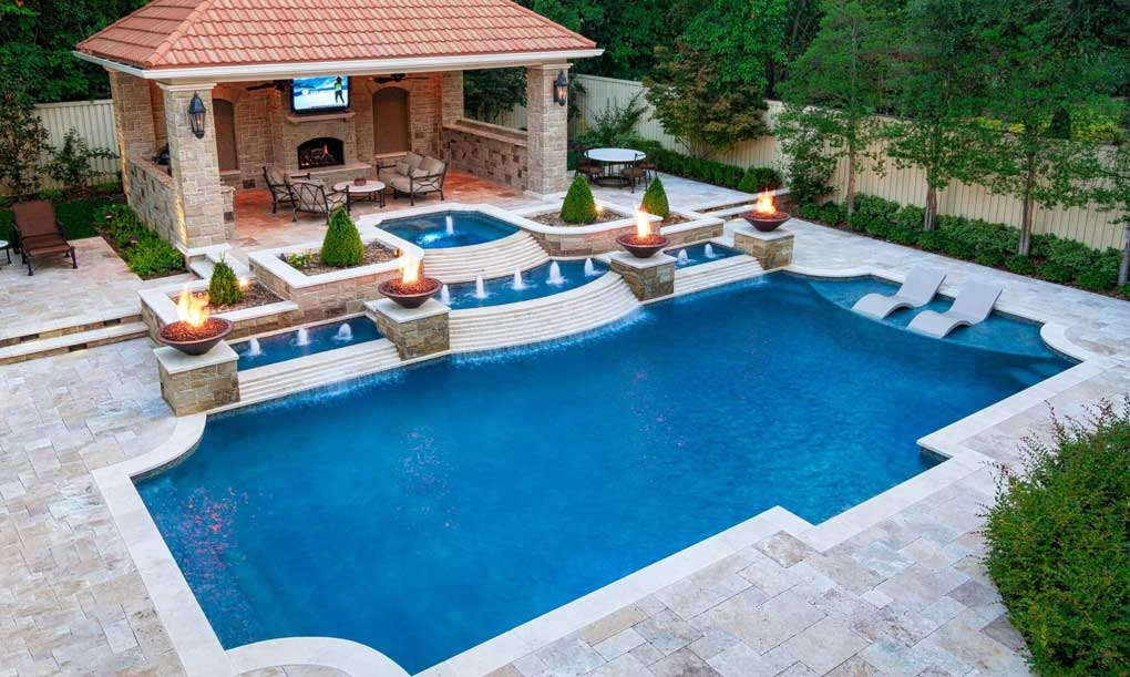 design piscina ingropata