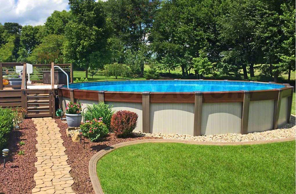 piscina pe pamant