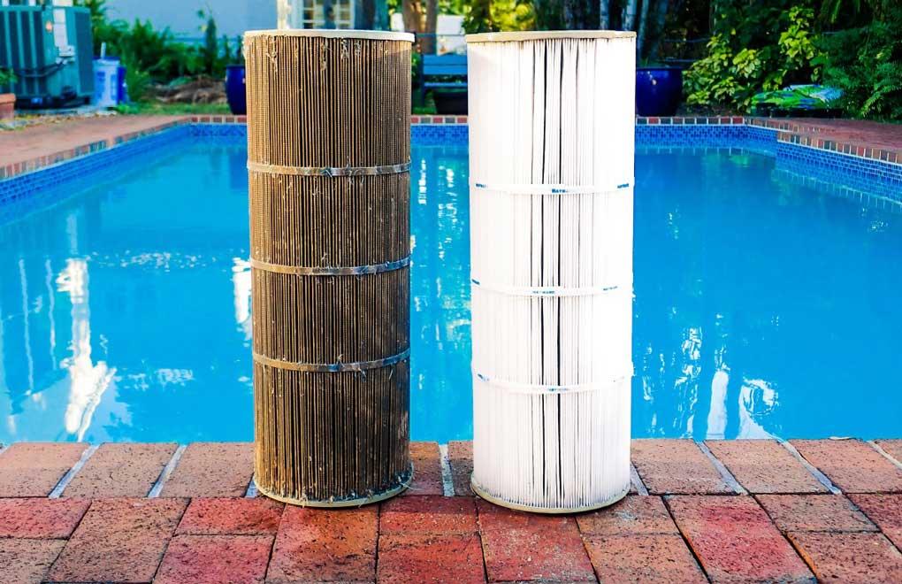 schimbare filtru piscina