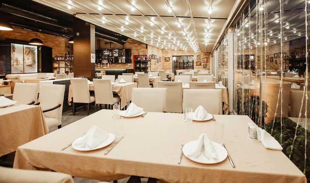 ventilatia naturala a restaurantului