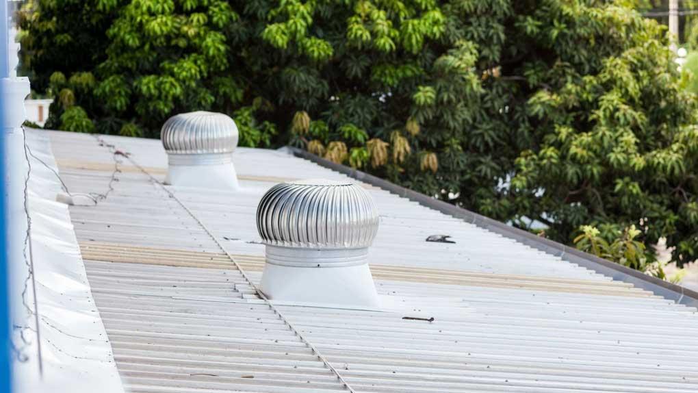 ventilatii prin acoperis